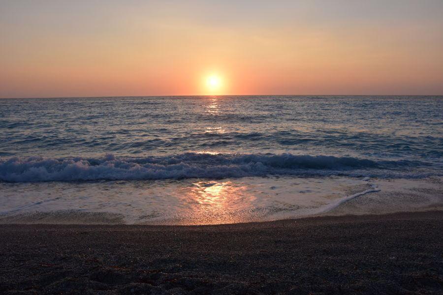 Zalazak sunca na Lefkadi