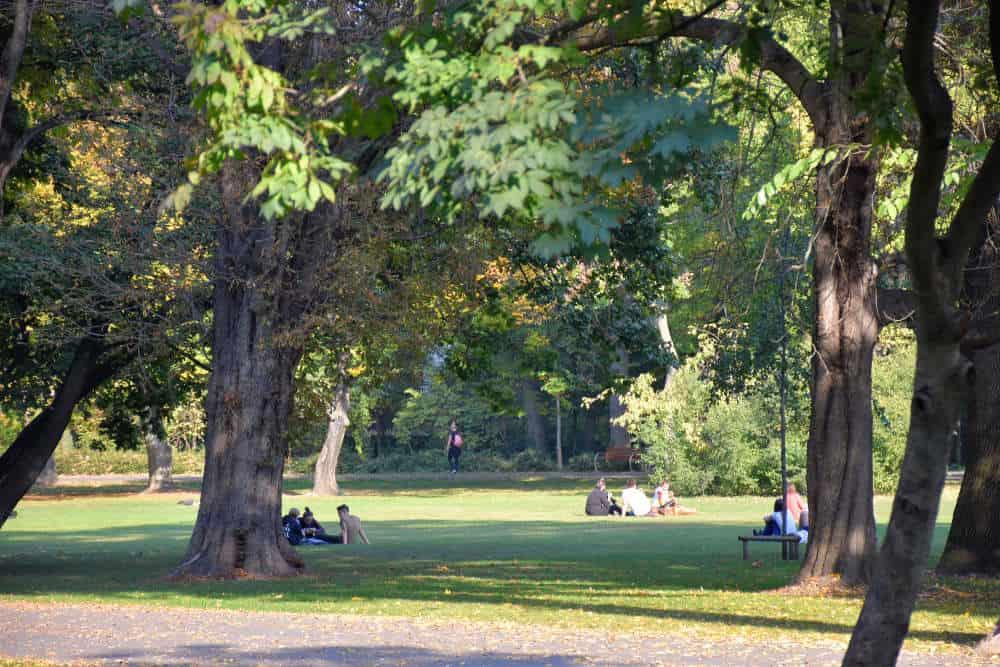 Park na Margitinom ostrvu