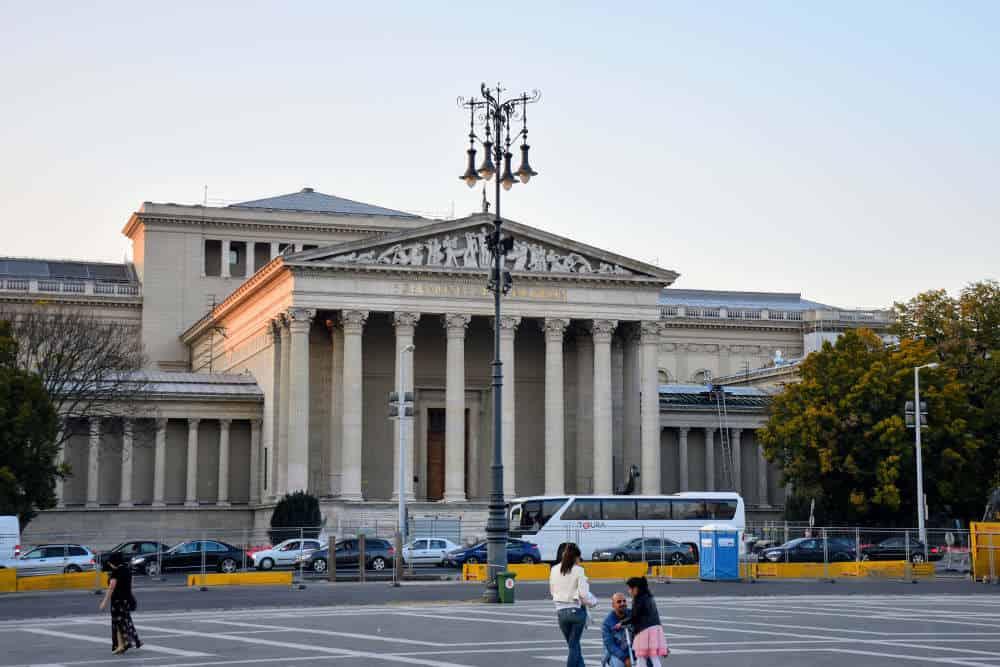 Muzej lepih umetnosti Budimpešta