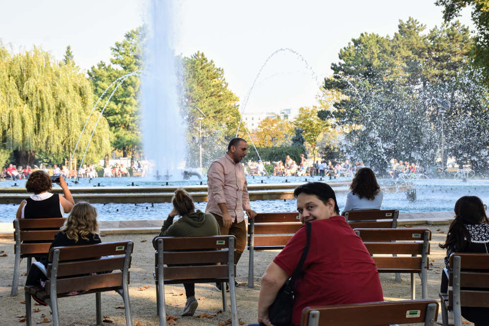 Muzička fontana na Margitinom ostrvu