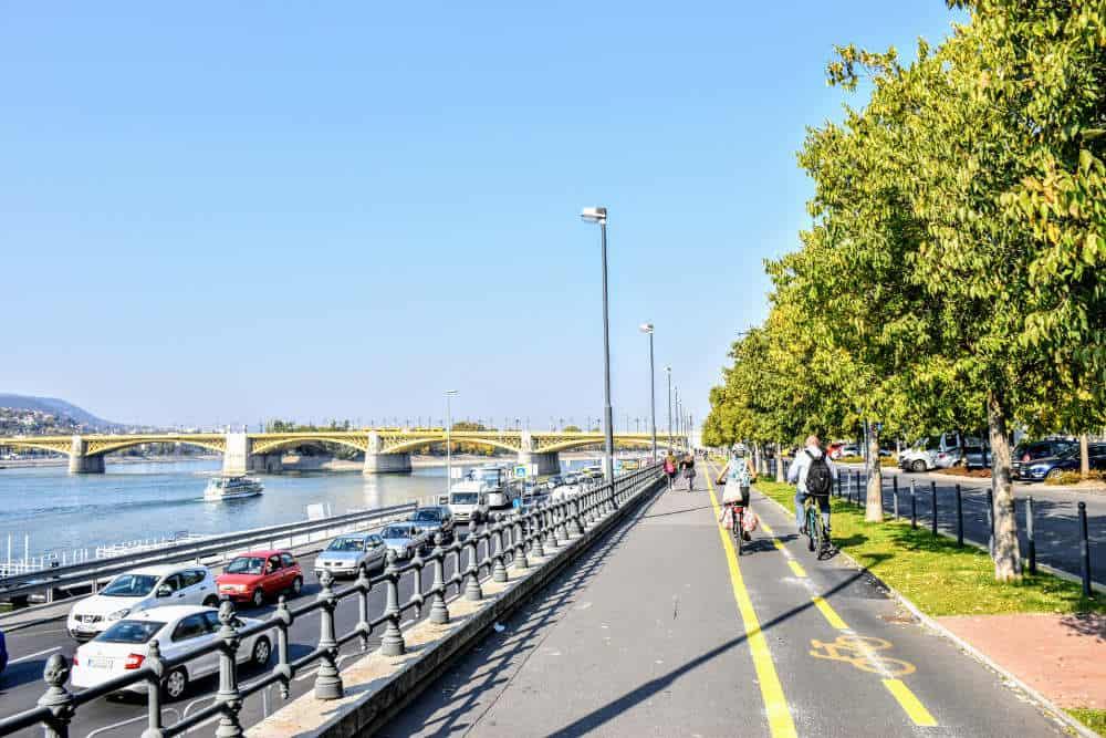 Šetalište pored Dunava u Budimpešti