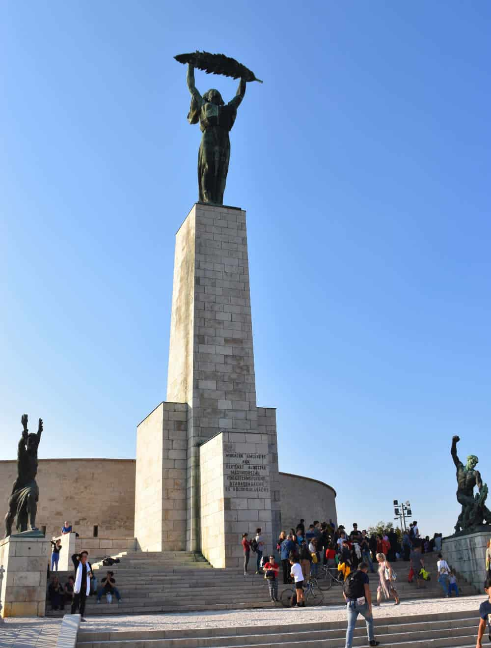 Statua slobode na Gelert brdu