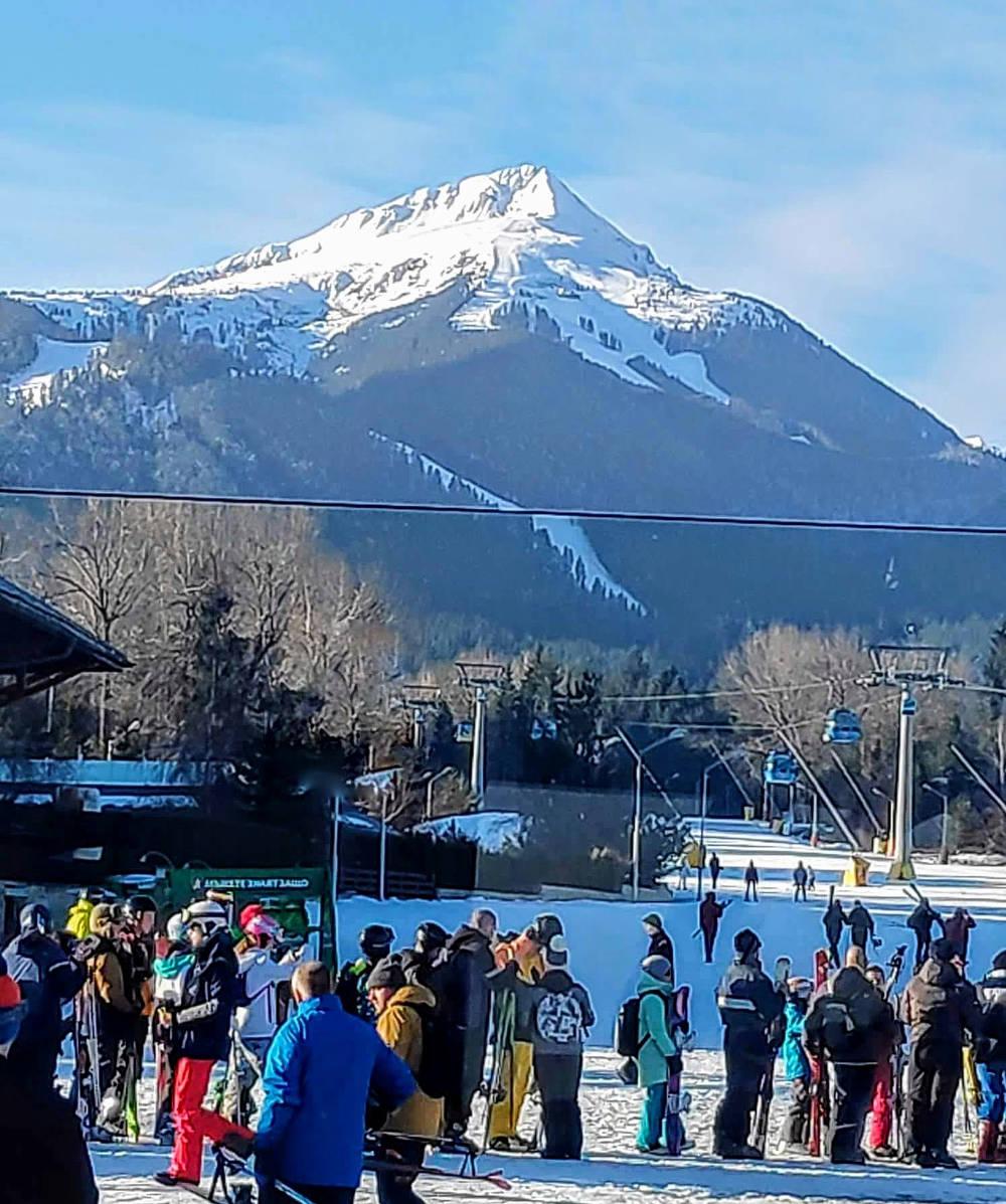 Bansko ski road
