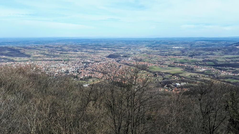 Pogled na Arandjelovac sa Bukulje