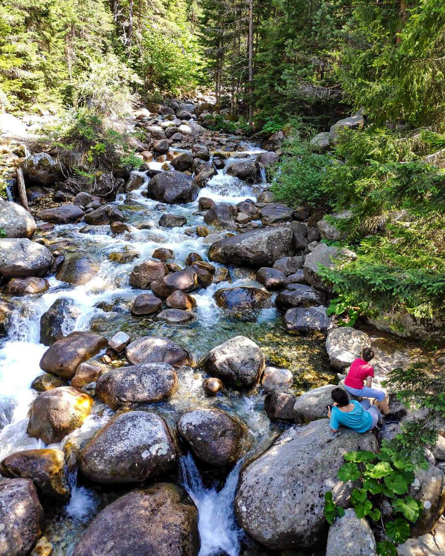 Reka na planini Pirin