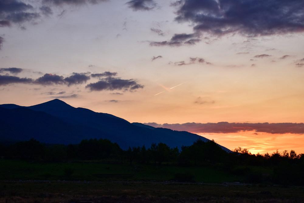 Zalazak sunca Bansko