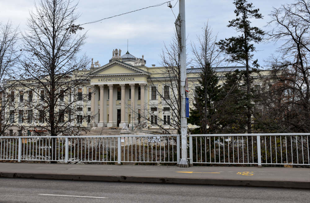 Mora Ferenc muzej u Segedinu, pogled na zgradu