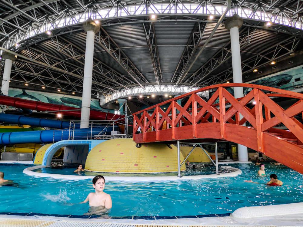 Kupanje u Aquapolisu u Segedinu